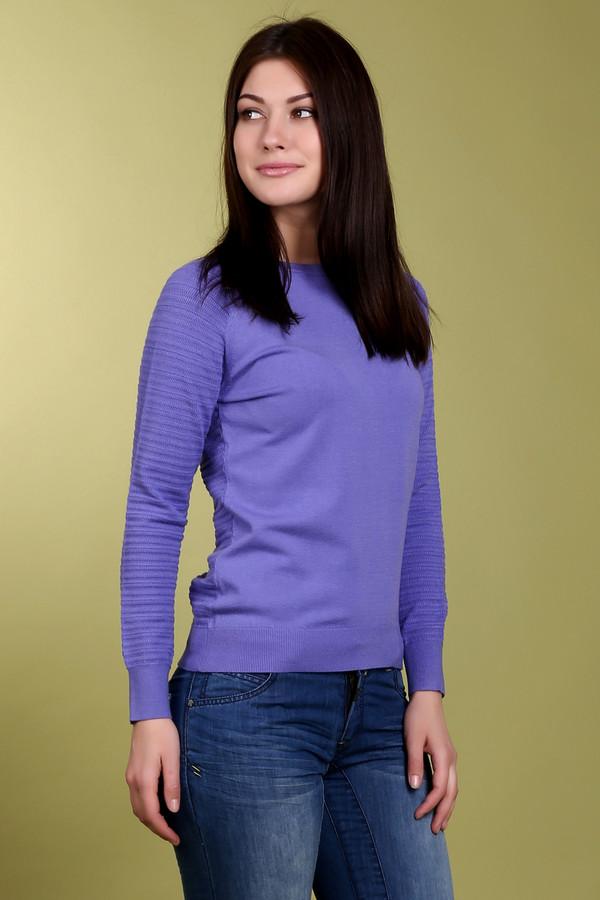 Пуловер PezzoПуловеры<br>Пуловер для женщин от бренда Pezzo. Это пуловер сиреневого цвета, классического кроя, с круглым воротником и длинным рукавом, дополненный объемной вязкой и пуговицами в задней его части. Данный пуловер изготовлен из смеси вискозы и полиэстера.<br><br>Размер RU: 46<br>Пол: Женский<br>Возраст: Взрослый<br>Материал: вискоза 70%, полиэстер 30%<br>Цвет: Сиреневый