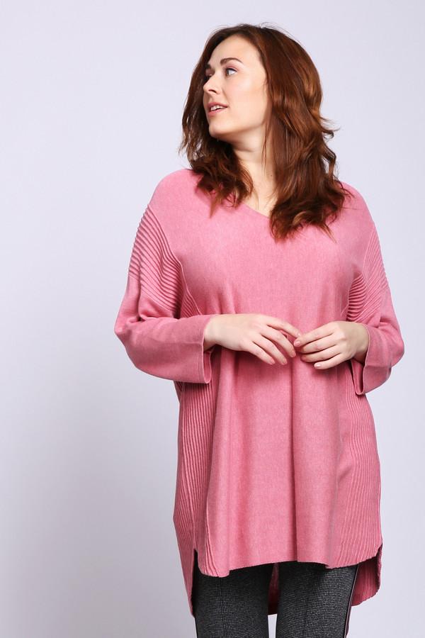 женский пуловер via appia, розовый