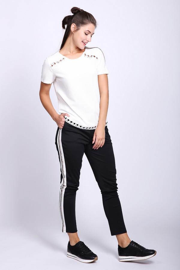 женские брюки via appia, черные