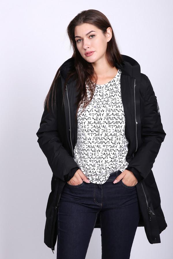 женская куртка just valeri, черная