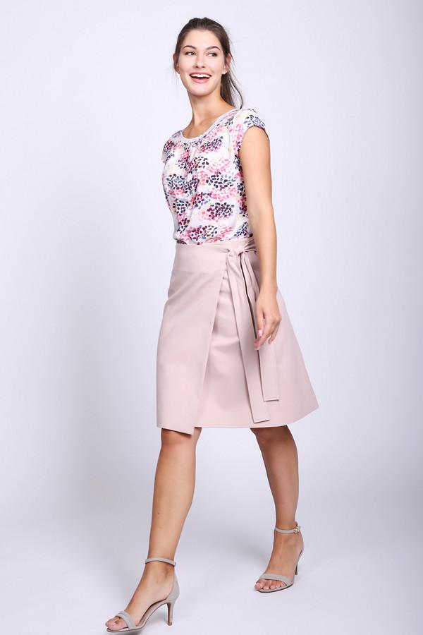 женская юбка luisa cerano, розовая