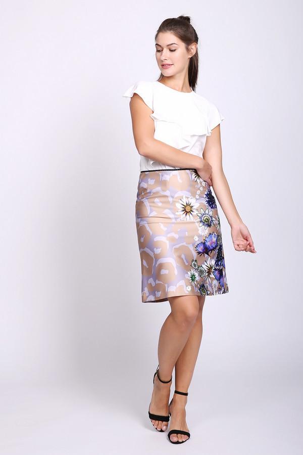 женская юбка marc cain, бежевая