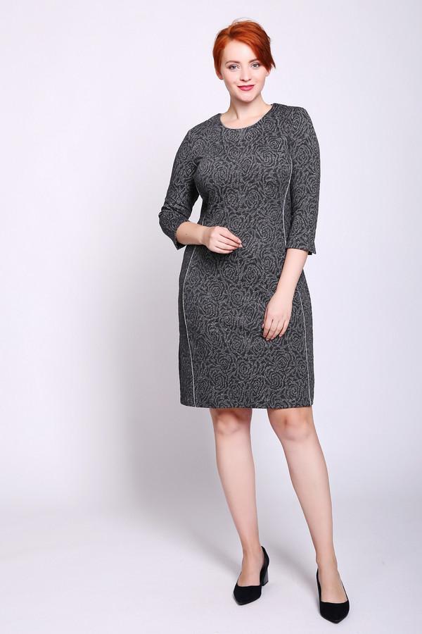 Купить Платье Gerry Weber, Китай, Серый, эластан 2%, вискоза 30%, полиэстер 58%, метализ.полиэстер 10%