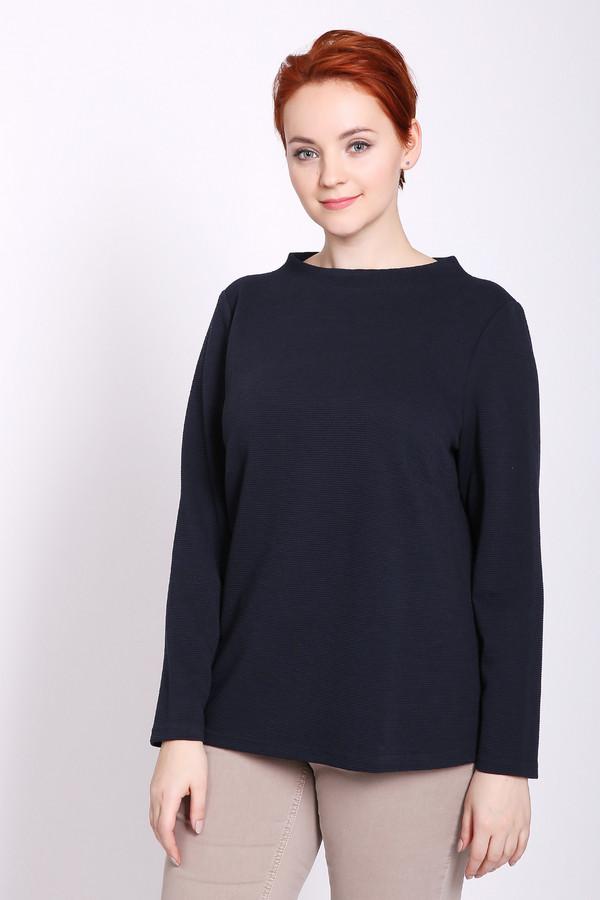 женский пуловер lebek, синий