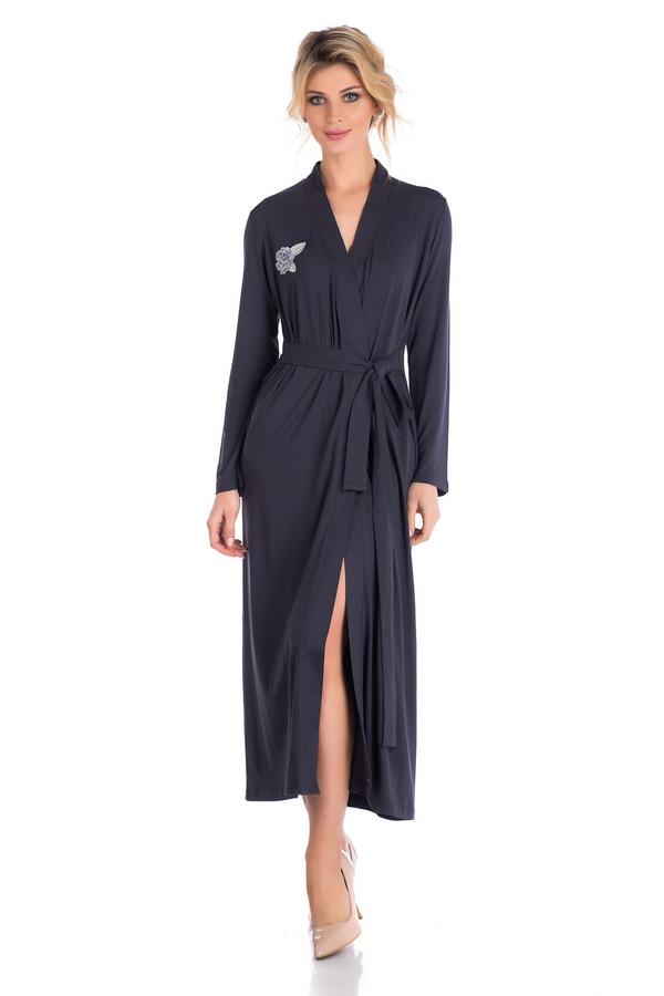 женский халат peche monnaie, серый