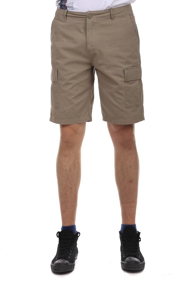 Шорты PezzoШорты<br>Шорты Pezzo бежевого цвета, изготовленные из натурального хлопка, прекрасно дополнят ваш образ в теплое время года. Длинна до колена, позволяет подбирать под шорты различные футболки и поло, придавая разнообразия своему образу. Для большего удобства на шортах есть несколько карманов. На задней части одежды также есть карманы, но они носят сугубо декоративный характер.<br><br>Размер RU: 46<br>Пол: Мужской<br>Возраст: Взрослый<br>Материал: хлопок 100%<br>Цвет: Бежевый