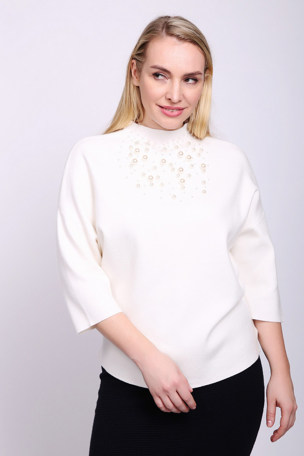 Купить Пуловер Betty Barclay, Китай, Белый, вискоза 50%, полиамид 20%, полиэстер 30%