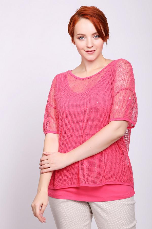 Фото - Женский пуловер Via Appia розового цвета