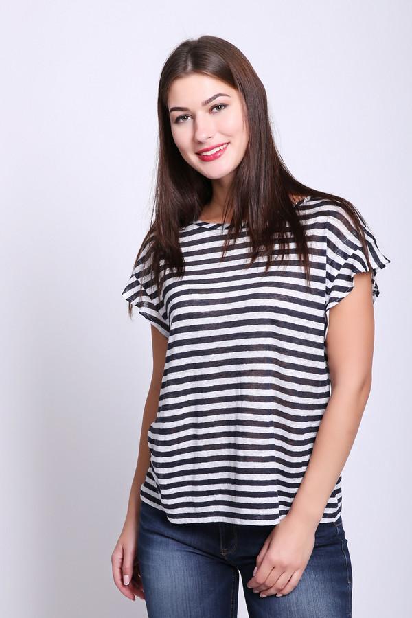 женская футболка luisa cerano, разноцветная