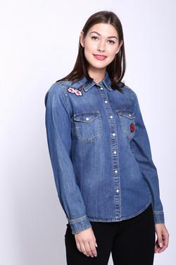 7360561eb297ae9 Купить стильные женские рубашки и сорочки в интернет-магазине X-moda ...
