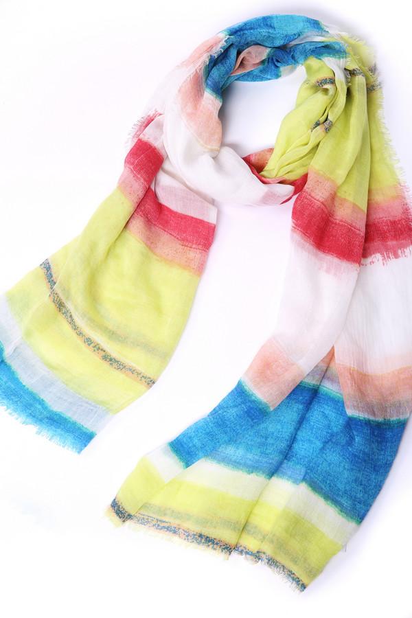 женский шарф codello, разноцветный