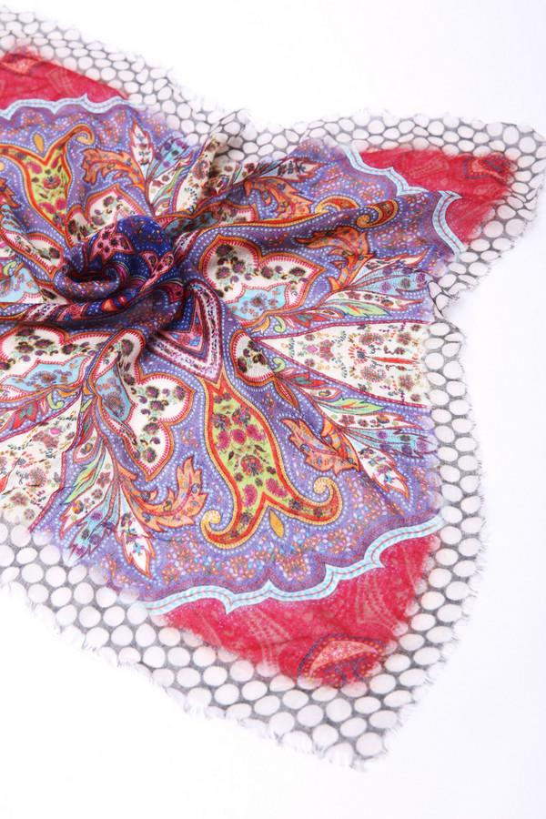 Купить Платок Passigatti, Индия, Разноцветный, шелк 20%, модал 80%