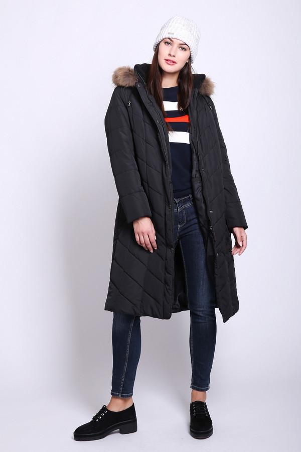 женское пальто lebek, черное