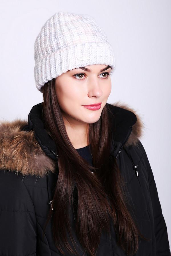 женская шапка seeberger, серая