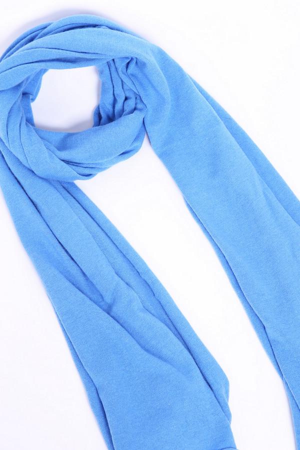 женский шарф pezzo, голубой