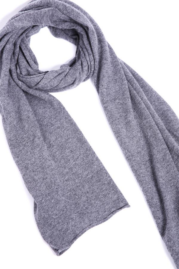 женский шарф pezzo, серый