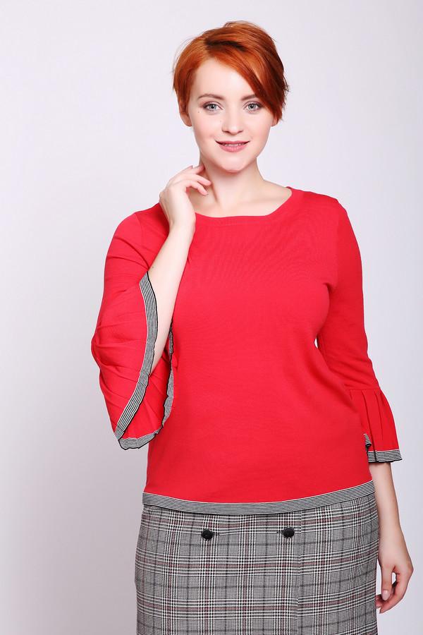 Пуловер Bianca, Китай, Красный, вискоза 77%, полиамид 23%  - купить со скидкой