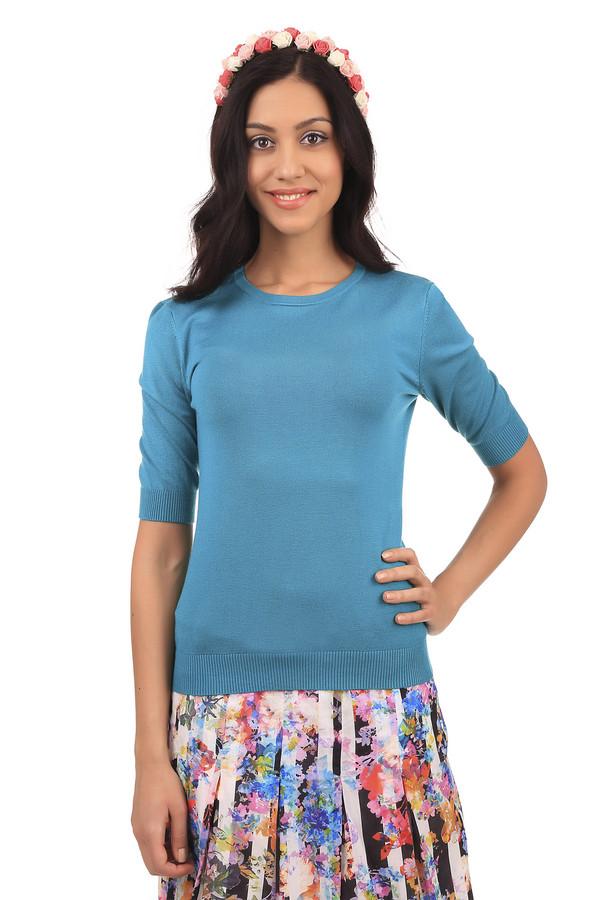Пуловер PezzoПуловеры<br>Классический женский пуловер голубого цвета от бренда Pezzo. Изделие дополнено: высоким круглым вырезом и рукавом длиной до локтя. Пуловер сделан из вискозы с добавлением полиамида. Он хорошо сидит по фигуре и тянется.<br><br>Размер RU: 50<br>Пол: Женский<br>Возраст: Взрослый<br>Материал: полиамид 19%, вискоза 81%<br>Цвет: Голубой