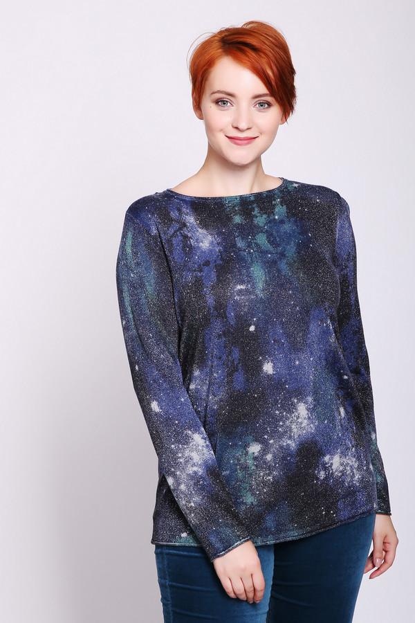 женский пуловер gerry weber, синий