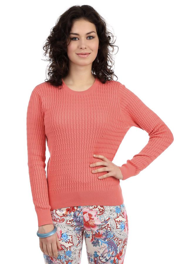 Пуловер PezzoПуловеры<br>Классический женский пуловер от бренда Pezzo. Это пуловер кораллового оттенка, выполненный в технике мелкой вязки с классическим мелким объемным узором коса. Изделие дополнено: круглым вырезом и длинным рукавом. В состав материала данного пуловера входит смесь хлопка и акрила.<br><br>Размер RU: 54<br>Пол: Женский<br>Возраст: Взрослый<br>Материал: хлопок 60%, акрил 40%<br>Цвет: Оранжевый