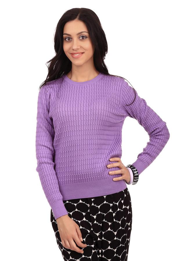 Пуловер PezzoПуловеры<br>Классический женский пуловер от бренда Pezzo. Данный пуловер представлен в сиреневом цвете и выполнен в технике мелкой вязки с объемным узором коса. Изделие дополнено: круглым вырезом и длинным рукавом. Материал пуловера на 60% состоит из хлопка и на 40% из акрила.<br><br>Размер RU: 44<br>Пол: Женский<br>Возраст: Взрослый<br>Материал: хлопок 60%, акрил 40%<br>Цвет: Сиреневый