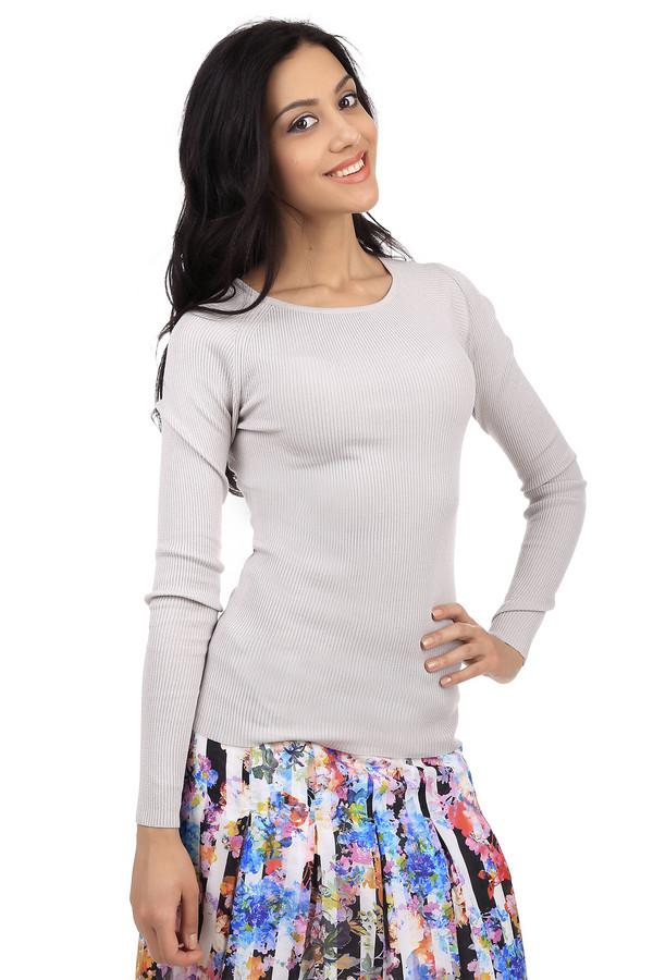 Пуловер PezzoПуловеры<br>Классический женский пуловер светло-серого цвета от бренда Pezzo. Это трикотажный пуловер простого покроя. Изделие дополнено: круглым вырезом и длинным рукавом. Данный пуловер пошит из материала, который на 63% состоит из шелка, на 32% из полиамида и на 5% из эластана.<br><br>Размер RU: 50<br>Пол: Женский<br>Возраст: Взрослый<br>Материал: эластан 5%, полиамид 32%, шелк 63%<br>Цвет: Серый