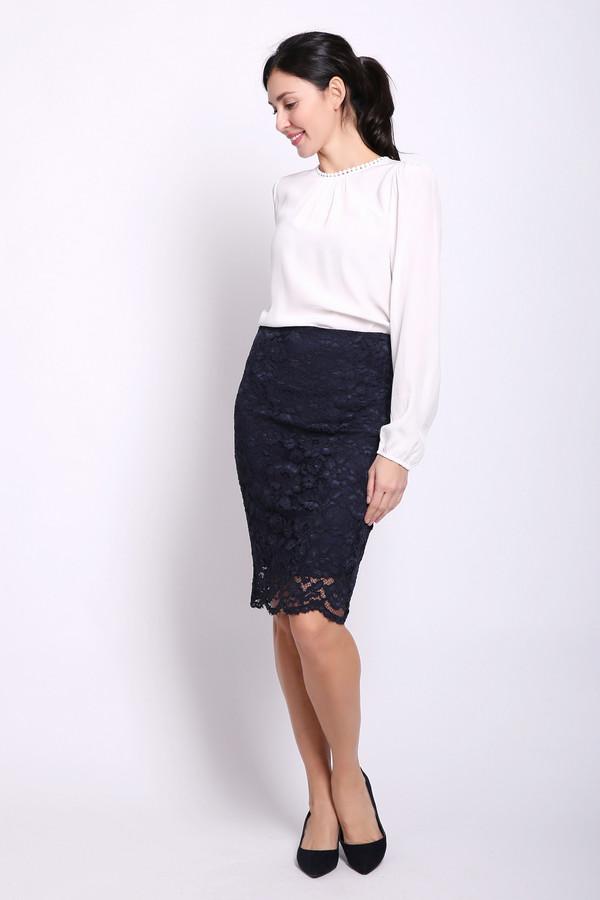 женская юбка oui, синяя