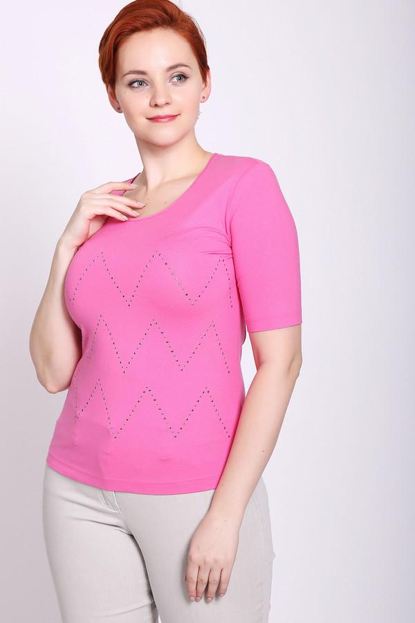женская футболка eugen klein, розовая