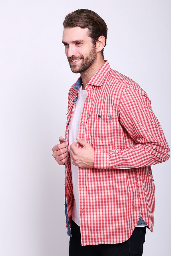 Купить Рубашка с длинным рукавом s.Oliver, Индия, Красный, хлопок 100%