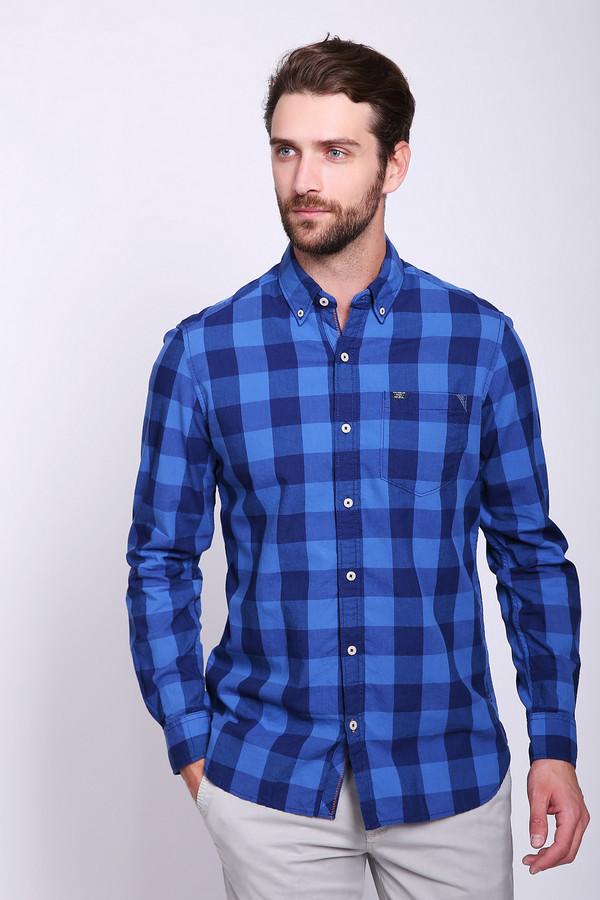 Купить Рубашка с длинным рукавом s.Oliver, Индия, Синий, хлопок 100%