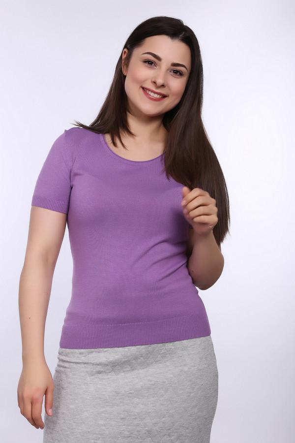 Пуловер PezzoПуловеры<br>Классический женский пуловер сиреневого цвета от бренда Pezzo. Изделие дополнено круглым вырезом и рукавом на резинке, длиной до середины плеча. Данное изделие сделано из вискозы с добавлением полиамида.<br><br>Размер RU: 52<br>Пол: Женский<br>Возраст: Взрослый<br>Материал: полиамид 19%, вискоза 81%<br>Цвет: Сиреневый