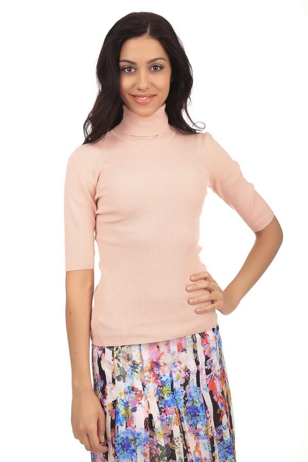 Пуловер PezzoПуловеры<br>Классический женский пуловер бренда Pezzo. Это трикотажный пуловер светло-оранжевого цвета, пошитый из шелка с добавлением полиамида и эластана. Изделие дополнено: рукавом длиной до локтя, а также высоким горлом.<br><br>Размер RU: 50<br>Пол: Женский<br>Возраст: Взрослый<br>Материал: эластан 5%, полиамид 32%, шелк 63%<br>Цвет: Оранжевый