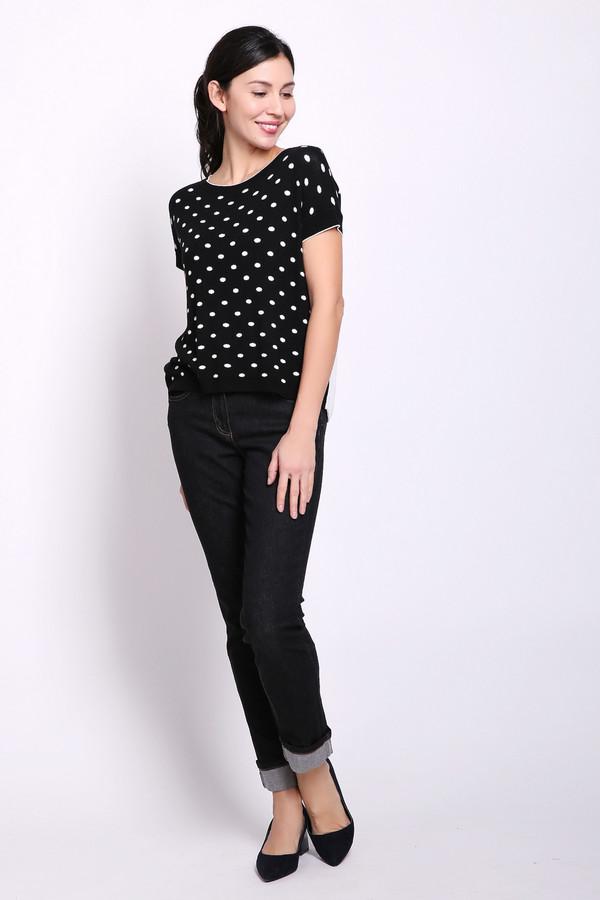 женские джинсы taifun, черные