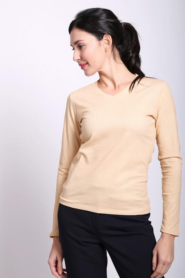 женская футболка pezzo, желтая