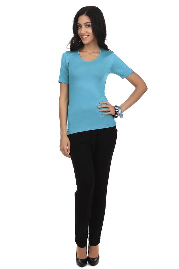 Брюки Betty BarclayБрюки<br>Прямые брюки-дудочки Betty Barclay черного цвета. Такие брюки должны быть в гардеробе каждой женщины. Они отлично смотрятся с различными  блузами  и  рубашками . Эти брюки подходят под лодочки на каблуке и простые балетки. Эта модель не выходит из моды вот уже несколько лет. Материал состоит на 95% из вискозы и на 5% из эластана, а потому брюки не только мягкие и приятные к телу, но еще и обладают стрейчевыми свойствами, поэтому очень удобные.<br><br>Размер RU: 48<br>Пол: Женский<br>Возраст: Взрослый<br>Материал: эластан 5%, вискоза 95%<br>Цвет: Чёрный