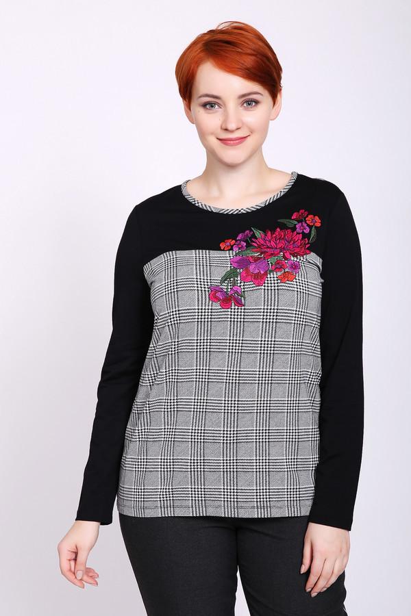 женская футболка с длинным рукавом gerry weber, разноцветная