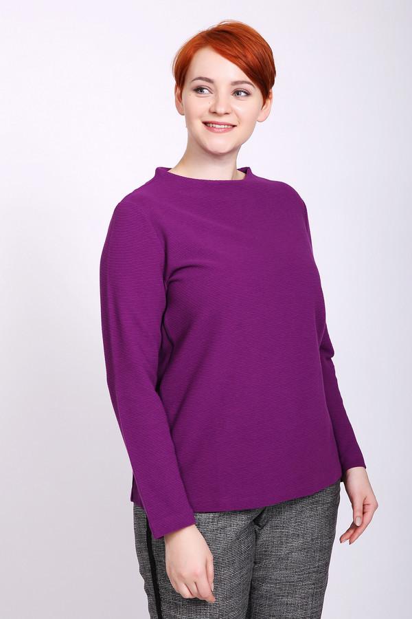 Купить Пуловер Gerry Weber, Турция, Фиолетовый, эластан 4%, полиэстер 21%, хлопок 75%