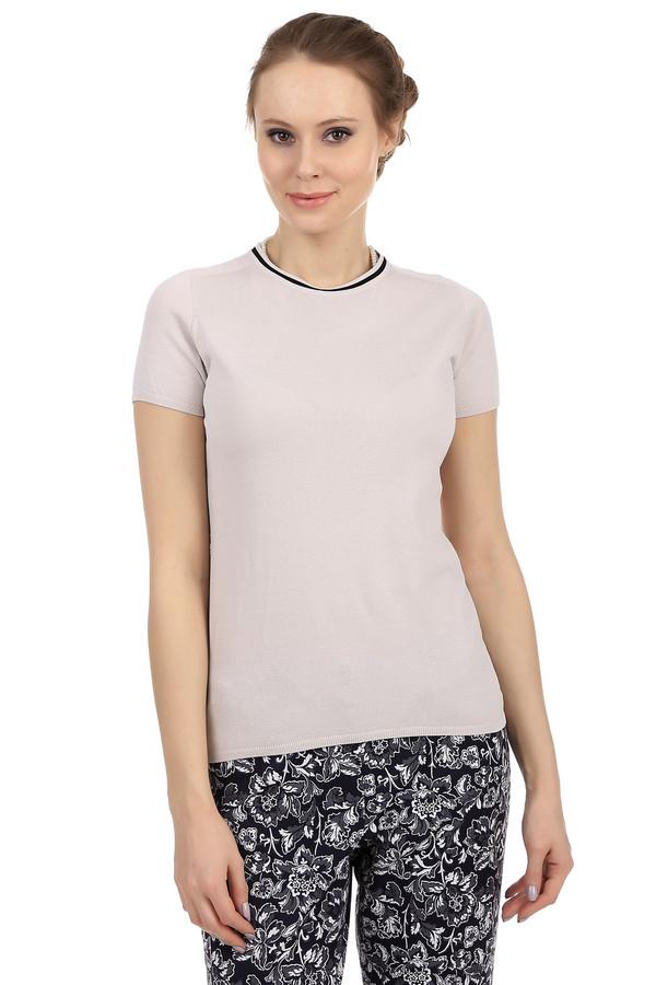 Пуловер PezzoПуловеры<br>Стильный женский пуловер Pezzo бежевого цвета. У данной модели рукав длиной до середины плеча и круглый вырез, дополненный черной полоской. Этот пуловер пошит из вискозы с добавлением полиамида. Является отличной основой под украшения.<br><br>Размер RU: 48<br>Пол: Женский<br>Возраст: Взрослый<br>Материал: вискоза 65%, полиамид 35%<br>Цвет: Бежевый