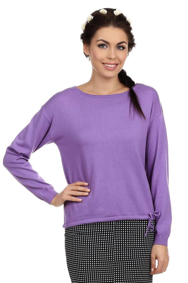 Пуловер PezzoПуловеры<br>Пуловер Pezzo ярко-сиреневого цвета, изготовлен из смеси хлопка и акрила. Изюминкой пуловера являются затяжки, расположенные в нижней части одежды. Шнурок можно завязать для придания новизны образу. Кроме того, благодаря затяжкам вы можете регулировать низ пуловера. Подходит для ежедневного использования в прохладную погоду.<br><br>Размер RU: 46<br>Пол: Женский<br>Возраст: Взрослый<br>Материал: хлопок 60%, акрил 40%<br>Цвет: Сиреневый