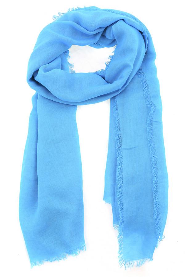 Шарф PezzoШарфы<br>Стильный женский шарф от бренда Pezzo. Это шарф ярко-голубого цвета. Он изготовлен из материала, который на 100% состоит из вискозы. По краям шарф немного с бахромой. Выглядит очень стильно, способен освежить и дополнить любой образ.<br><br>Размер RU: один размер<br>Пол: Женский<br>Возраст: Взрослый<br>Материал: вискоза 100%<br>Цвет: Голубой