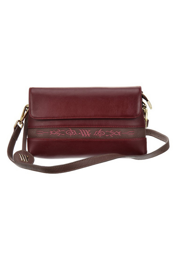 Купить Женскую сумку Vera Victoria Vito бордового цвета