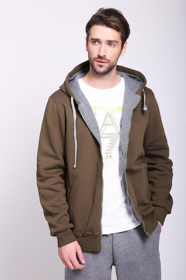 Толстовка D.S.Толстовки<br>Толстовка-куртка утепленная на подкладе из 100% хлопка, имеет внутренний карман для документов. Цвета: Индиго, меланж, серый, темный меланж, темно-синий, хаки, черный. Вид застежки: молния Вырез горловины: округлый Длина изделия: по спинке: 3XL-70 см, 4XL-71 см, 5XL-72 см Длина рукава: Длинный Покрой: полуприлегающий Рисунок: без рисунка Фактура материала: трикотажный (утеплитель начес) Тип карманов: прорезной Декоративные элементы: без элементов Конструктивные элементы: с капюшоном, внутренний карман Подклад: трикотажный 100% хлопок