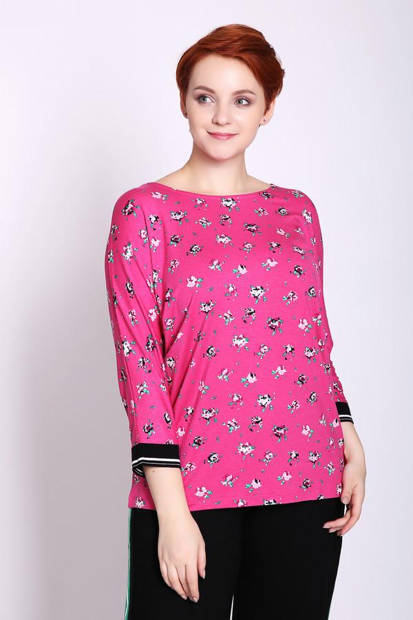 женская футболка gerry weber, розовая