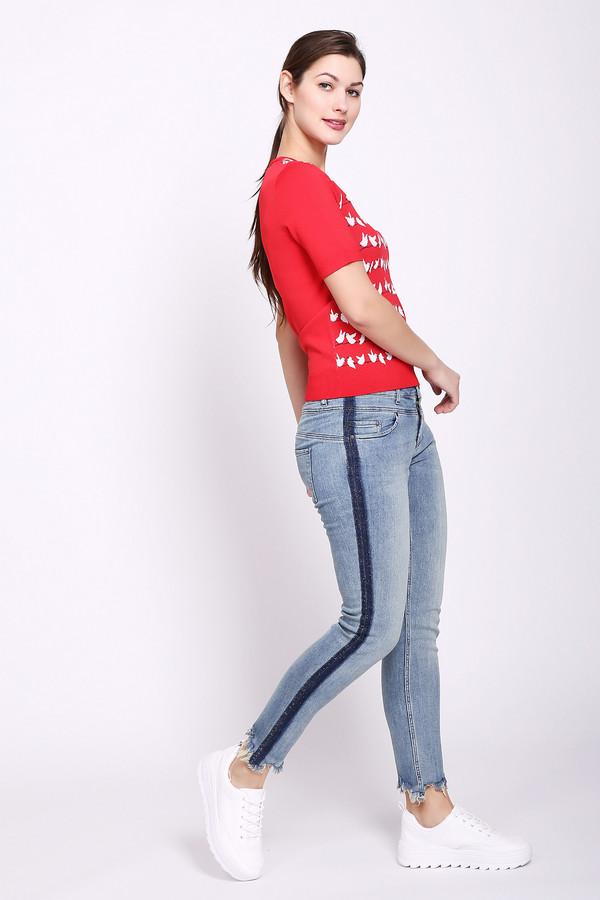 женские джинсы oui, разноцветные