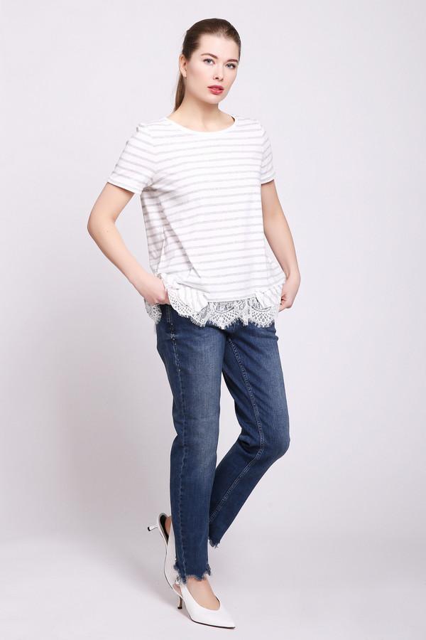 женские джинсы oui, синие