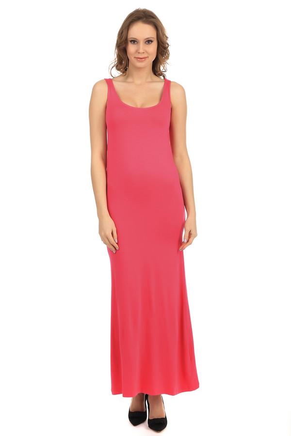 Длинное платье PezzoДлинные платья<br>Женское платье длиной до щиколотки от бренда Pezzo. Это платье-майка с глубоким круглым вырезом, пошитое из ткани кораллового оттенка, в состав которой входит вискоза с добавлением эластана, благодаря которому платье хорошо тянется.<br><br>Размер RU: 40<br>Пол: Женский<br>Возраст: Взрослый<br>Материал: эластан 5%, вискоза 95%<br>Цвет: Красный