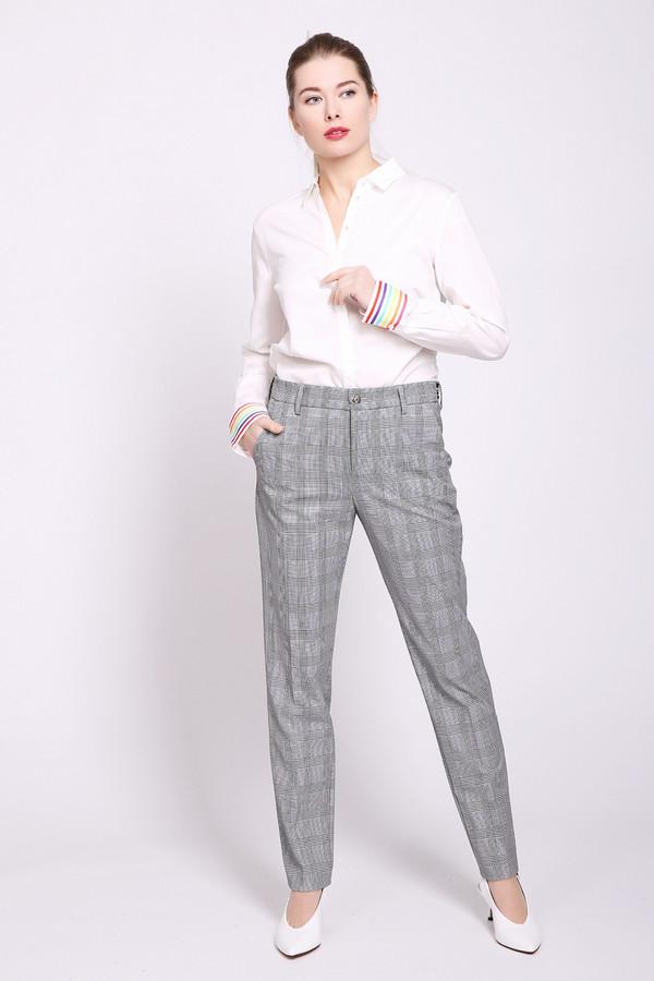 женские брюки mac, серые