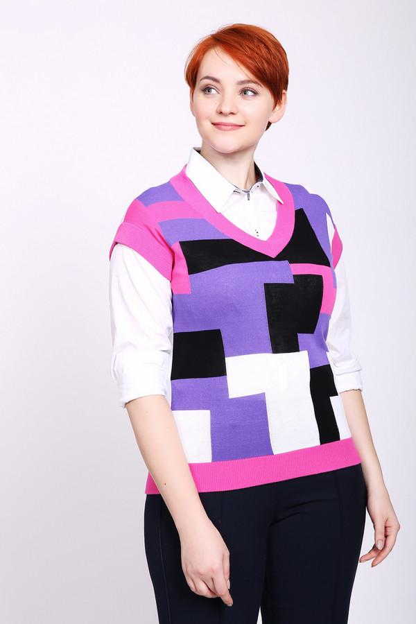 женский жилет pezzo, разноцветный