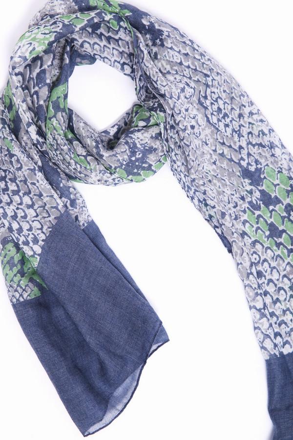 женский шарф pezzo, разноцветный