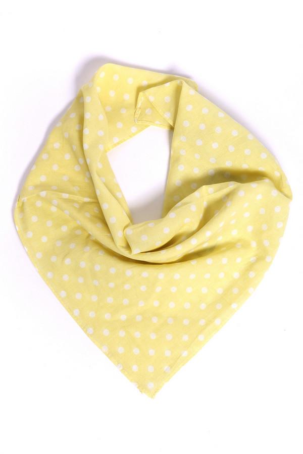 женский платок pezzo, желтый